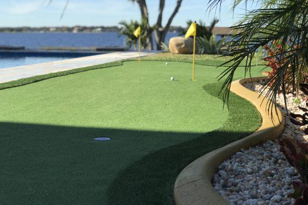 Poolside Putting Green